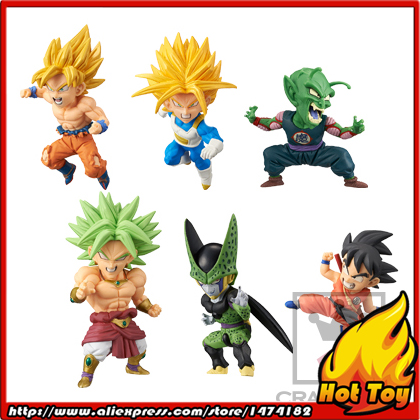 100% Original Banpresto WCF Complete Collection Figure  BATTLE OF SAIYANS Vol.2 - Full Set of 6 Pieces from Dragon Ball Z платья sparada платье