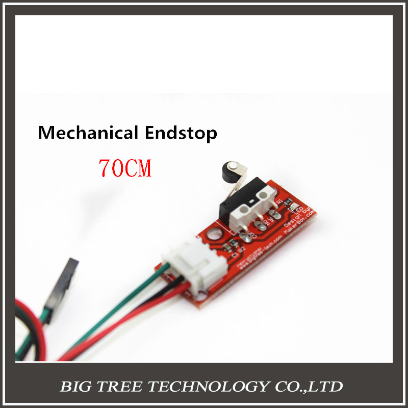 1PC Mechanical Endstop With Cable Limit Switches For Reprap Ramps 1.4 3D Printer With Independent Packing DIY Kit 6 pcs lot endstop mechanical limit switches 3d printer switch for ramps 1 4 free shipping dropshipping
