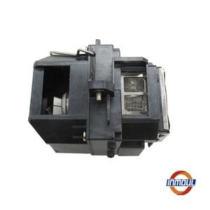 Image 2 - + Качество и 95% Яркость лампой ELPLP58 для EPSON EX5200/EX7200/PowerLite 1220/1260/S10 +/S9/VS 200/H367A/H367B/H367C