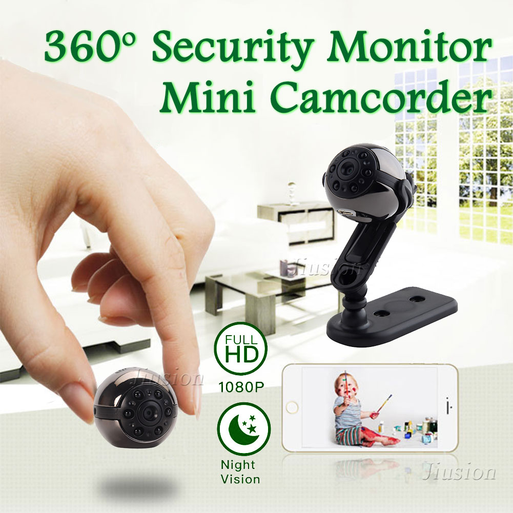 Camera Nanny Mini DV DVR 1080P Full HD SQ9 Panoramic 360 Degree Sport Car Cam Night Vision Video Voice Recorder Micro Camcorder image