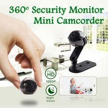 Camera Nanny Mini DV DVR 1080P Full HD SQ9 Panoramic 360 Degree Sport Car Cam Night Vision Video Voice Recorder Micro Camcorder