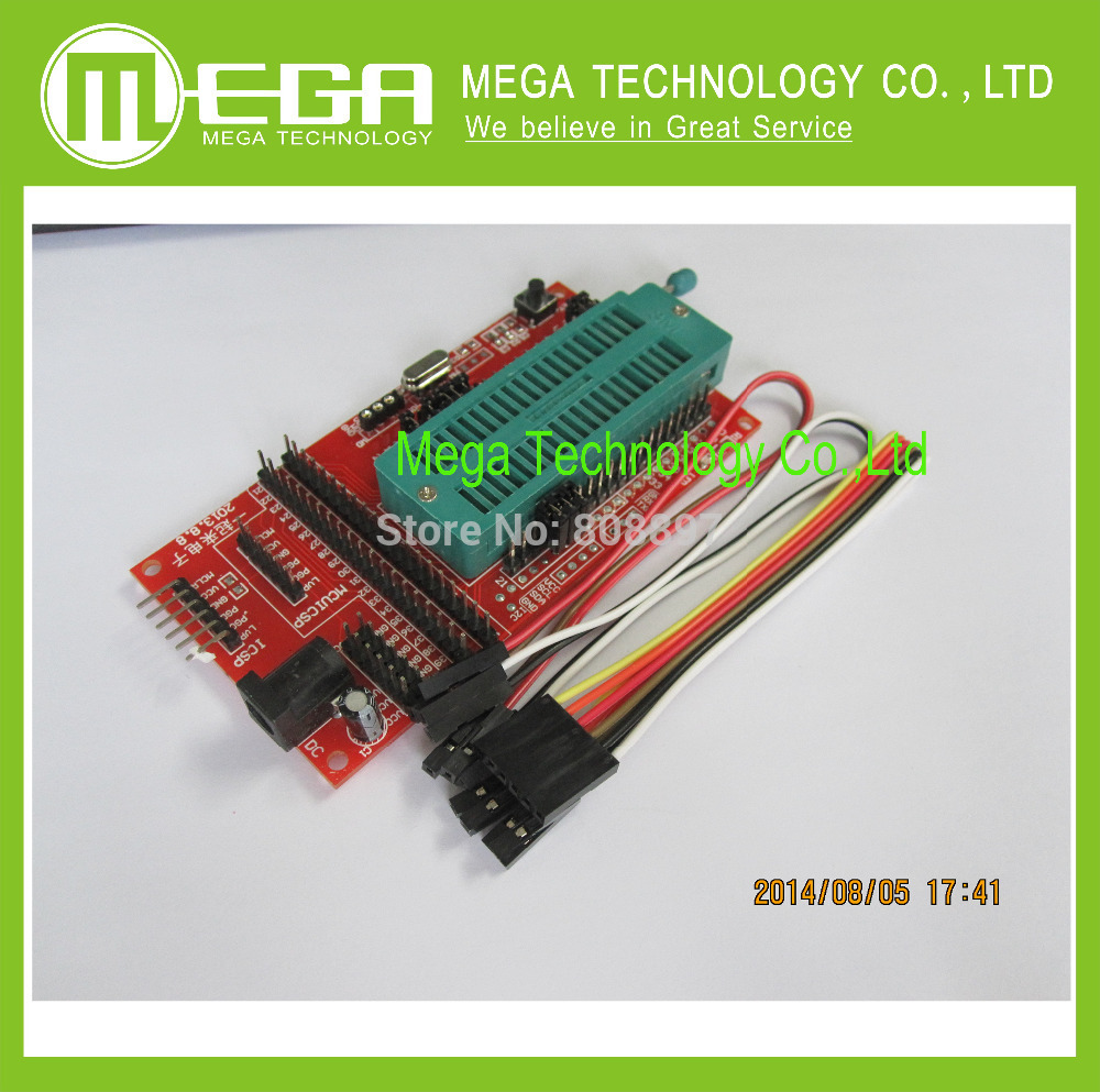 10PCS PIC Microcontroller Minimum System Board Development Board Universal Programmer ICD2 Kit2 KIT3 FOR PICKIT 2