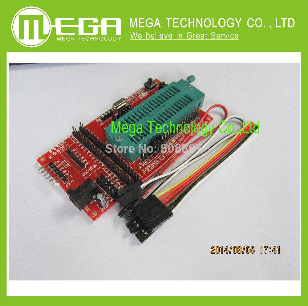 10PCS PIC Microcontroller Minimum System Board Development Board Universal Programmer ICD2 Kit2 KIT3 FOR PICKIT 2