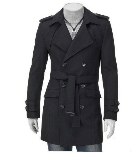 Popular Men's Double Breasted Trench Coat-Buy Cheap Men's ...