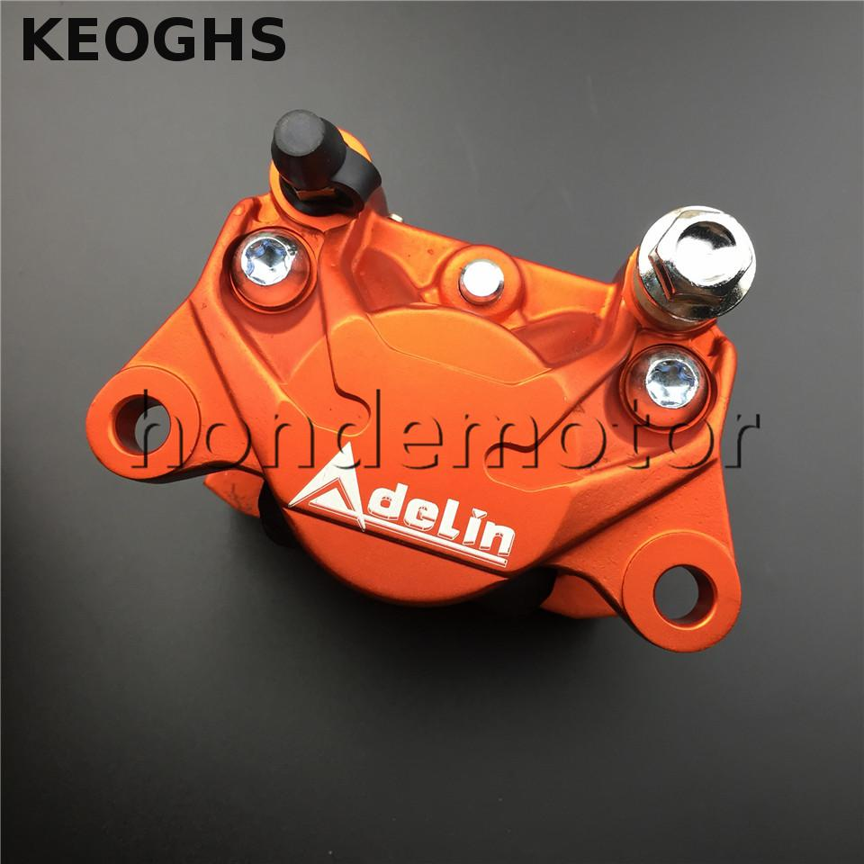 KEOGHS Adelin Adl17 Motorcycle Brake Caliper 2 Piston Aluminum Disc Brake System For Motorbike Ducati Honda Yamaha Aprilia keoghs motorcycle hydraulic brake system 4 piston 100mm hf2 brake caliper 260mm brake disc for yamaha scooter cygnus x modify