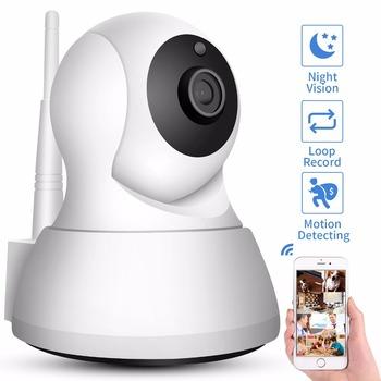 SDETER Home Security Kamera IP Wi-Fi 1080P 720P Bezprzewodowa kamera sieciowa nadzór kamery CCTV P2P Night Vision Baby Monitor tanie i dobre opinie do 3 6 mm 1080P (Full-HD) Zdjęcie FTP Zdjęcie E-mail 10M-15m Podczerwieni Stronie Wi-Fi 802 11 b g Normalne Sieć bezprzewodowa IP sieci