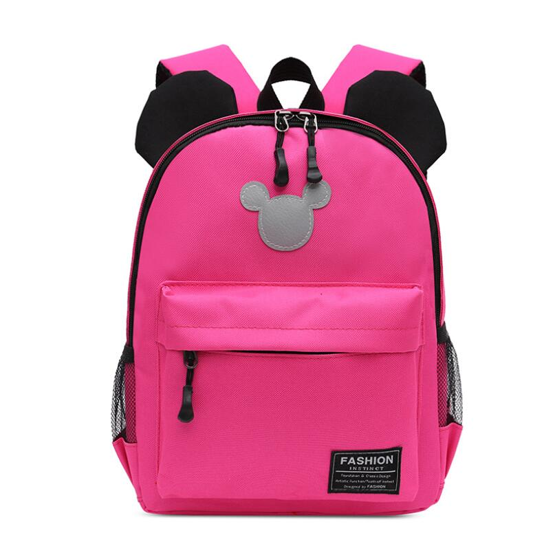 New Fashion Cartoon Kindergarten Backpack Children Mickey School Bags Kids Mickey Bags For Boys Girls Schoolbags Satchel