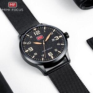 Image 5 - MINI FOCUS Men Watches Stainless Steel Waterproof Luxury Brand Fashion Quartz Watch Relogio Masculino Reloj Hombre  Montre Homme