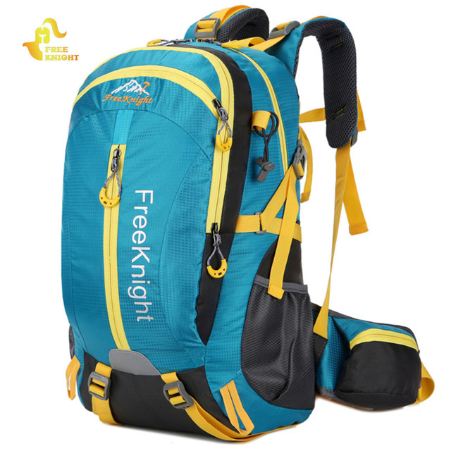 e46fce6b06 Free Knight 30L Nylon Water Resistant Backpack Rucksack Mountaineering  Camping Bags Unisex Outdoor Traveling Hiking Sport Bag