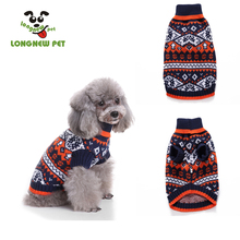 New Arrive Pet Dog Sweater Xmas Dog Sweater Without Hoodies Very Cute Dog Apparel For Small Medium Dog