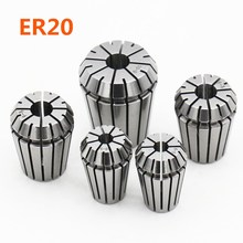 Original accessories fixture ER20 3mm 4mm 6mm 8mm 10mm high precision 0.008mm elastic collet chuck CNC engraving machine