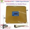 Display LCD! GSM CDMA 850 MHz + DCS 1800 MHz Booster, 2G 4G Dual Band Sinal de Celular Repetidor, GSM DCS Amplificador de Sinal De Celular