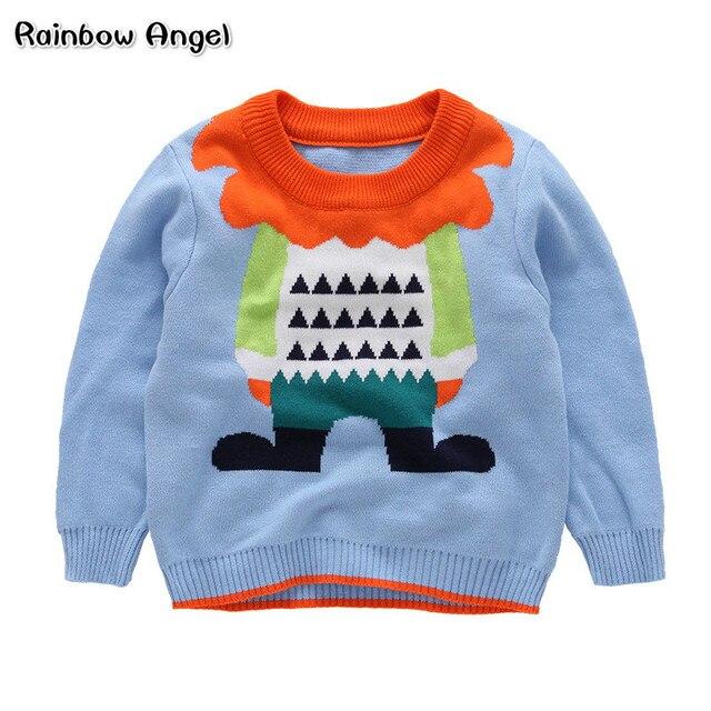 97995029ed99 Brand Children Clothes Winter Boys Sweater Cartoon Jumpers Knitwear ...