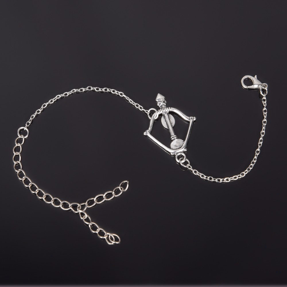 Simple Style Silver Plated Charm Bracelet Jewelry Gift Wedding Banquet Wholesale Top Quality 1 D2 18