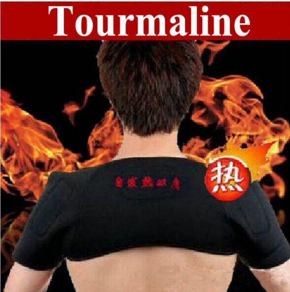 Hot 1pc tourmaline shoulder heating belt Therapy shoulder heating belt Pain Relieve 724