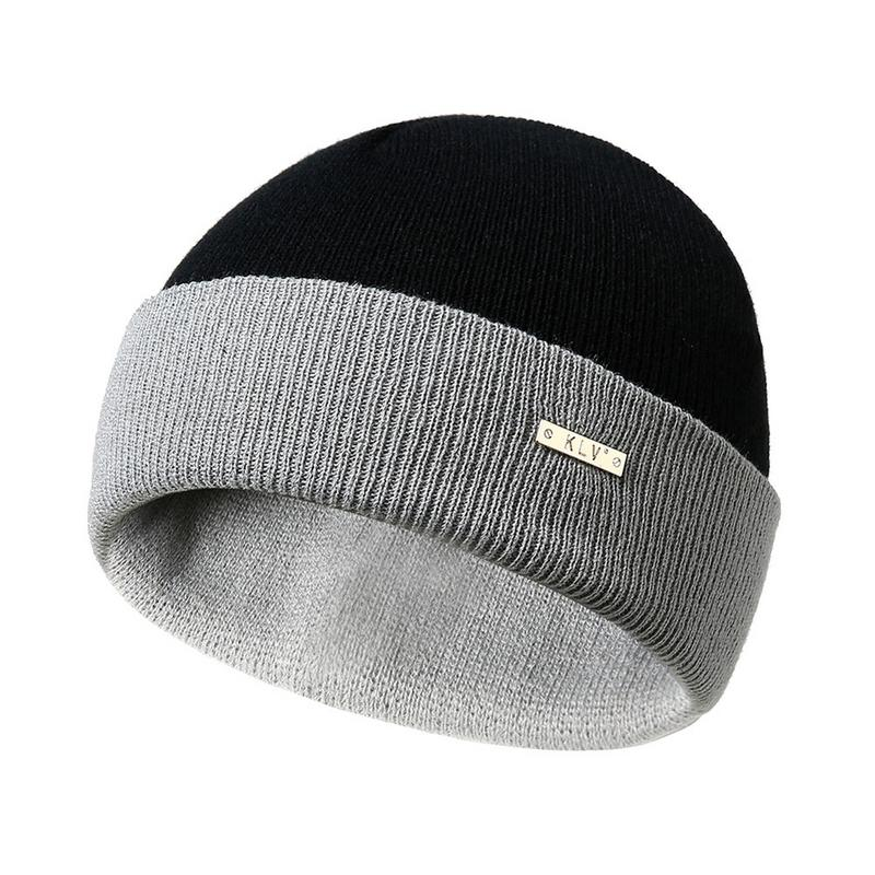 Fashion Casual Winter Warm Knitted Hat Cap   Skullies     Beanies   Bonnet For Men Women Knit Ski Hats Caps Female Male Ladies Hat Cap