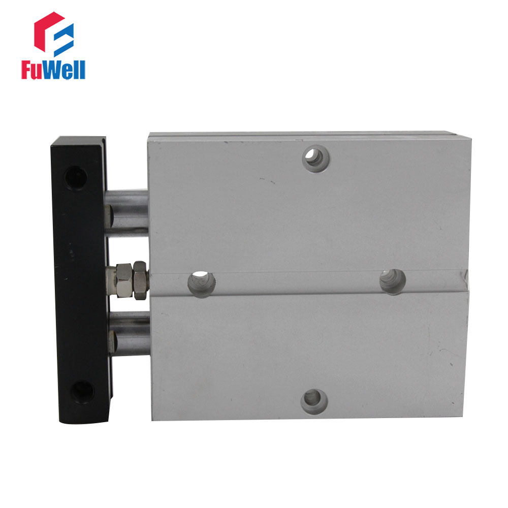 TN Type Double Acting Pneumatic Air Cylinder 32mm Bore 70/80/100mm Stroke Aluminum Alloy Dual Rod Air Cylinder airtac type tn tda series tn 32 70 dual rod pneumatic air cylinder guide pneumatic cylinder tn32 70 tn 32 70 tn32 70 tn32x70