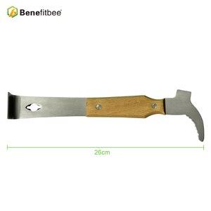 Image 2 - Benefícios apicultura ferramentas de apicultura abelha colmeia raspador faca para apicultor tomar faca de mel apicultura equipamentos