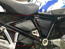 Bikegp брызгоотражатель Рамки Fender Для BMW R1200GS LC Adventure 2013-2017 Рамки декоративная шкатулка