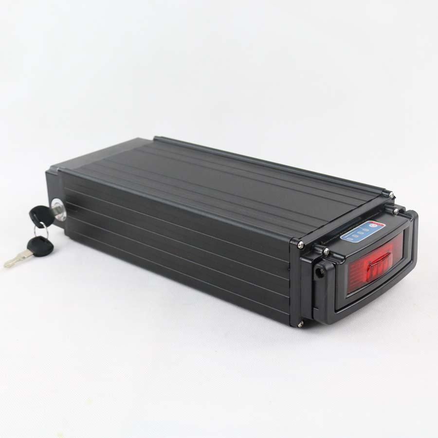 Super power for Samsung 48V 1000W electric bike battery 48v 30ah lithium ion battery pack with LED tail lamp+charger rear rack 48v 1000w electric bike battery 48v 25ah lithium ion battery pack fit bafang 8fun motor with led tail lamp charger bms