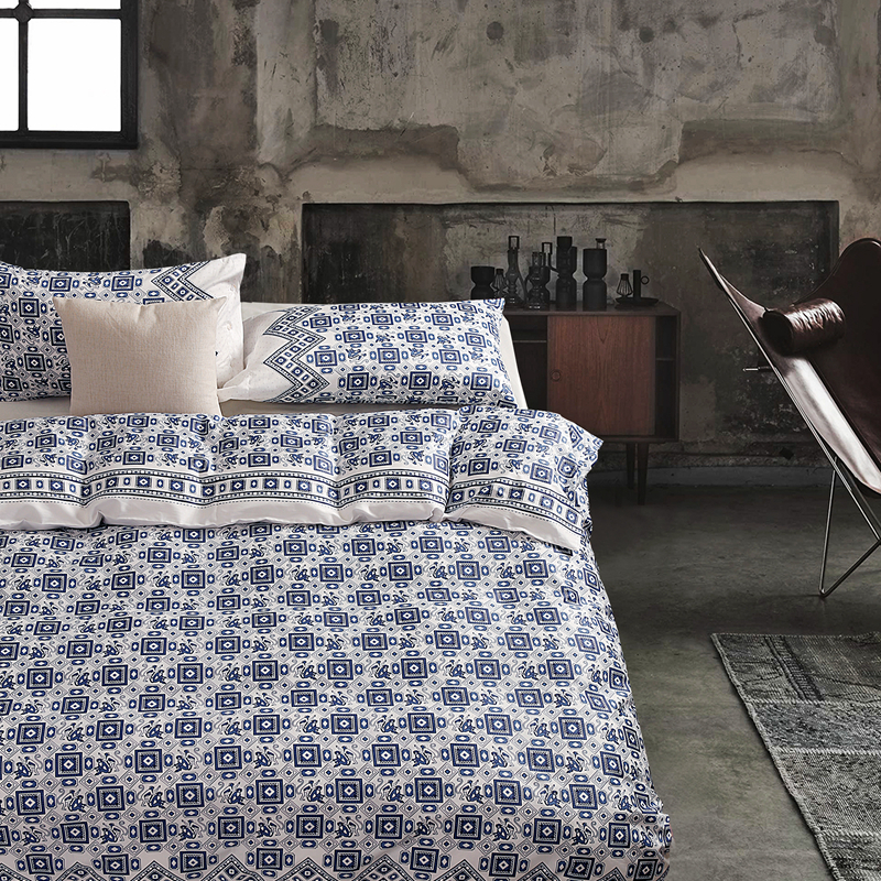 2017 New Bedding Set Egyptian cotton Bed Sheets Boho Duvet Cover Flat Bedspread Sets Home Textile Juegos de Sabanas Wholesale