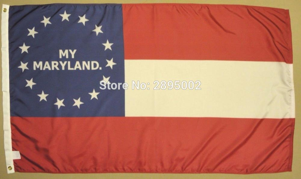 1st Maryland MD Infantry Reg Indoor Outdoor Historical Dyed Nylon Flag