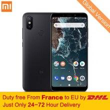 Tax Free! Глобальная версия Xiaomi Mi A2 4 ГБ 64 ГБ мобильный телефон Snapdragon 660 Octa Core 20MP AI две камеры 5,99″ 18:9 полный Экран