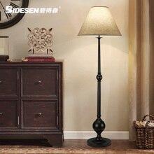 Lámpara de pie de estilo americano breve lámpara de pie de moda lámpara vertical,
