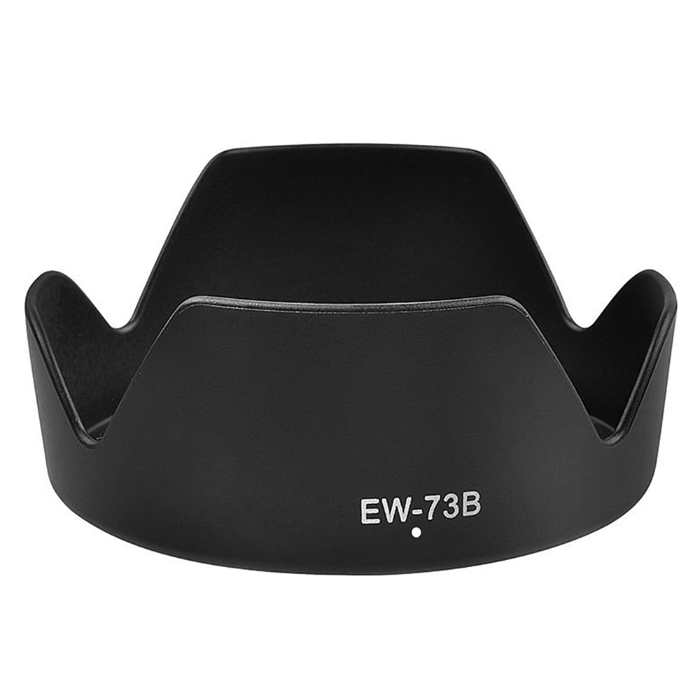 EW-73B Lens Hood Reversible Camera Lente Accessories For Canon 650D 550D 600D Camera Len Cover for Canon EF-S 18-135mm P0.3