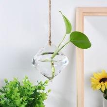 ed400e718 Dropshipping. exclusivo. colgante bola de cristal florero maceta de flores  terrario contenedor fiesta decoración de la boda