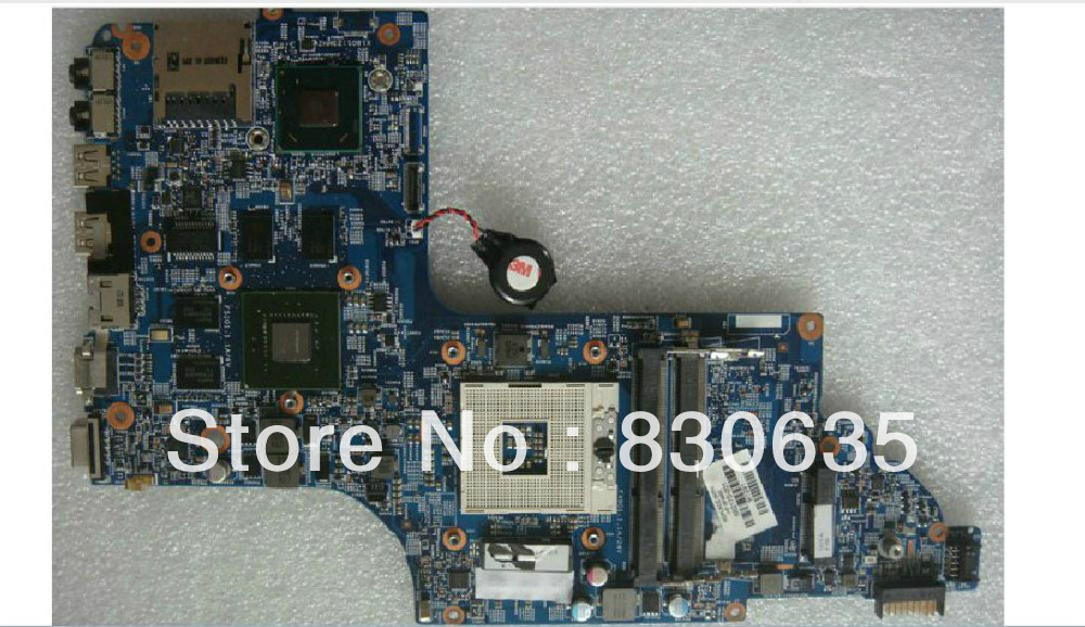 682170-001 lap DV6 DV6-7000 connect board connect with motherboard full test lap connect board free shipping 100% tested 682170 001 682170 501 board for hp dv6 7000 dv6 motherboard with for intel chipset 630m 2g