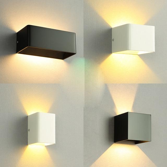 Modern Minimalis Lampu Dinding Luar Dipimpin Lampu