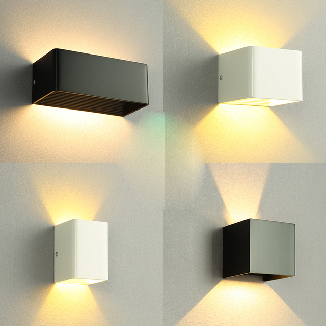 Modern minimalist wall lamp outdoor LED lamp lighting