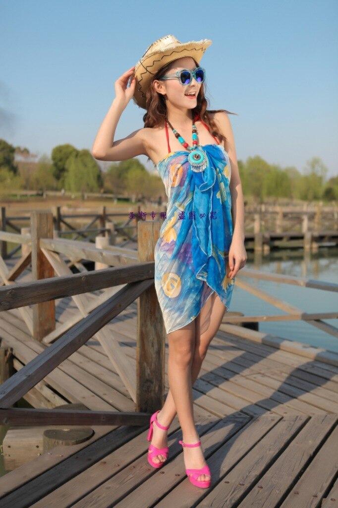 6e9957ea78d2 Wholesale 2015 Sexy Women Summer Dress Beach Wear Swimsuit Silk Bikini  Cover Up Girls Hawaiian Swim Bathing Suit 35 55inch 4 Lot on Aliexpress.com  ...