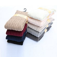 Free Shipping 9 Colors Cotton Blends Girls Knitted Over Knee Socks Women Sexy Thigh High Stockings Cheap Wholesale From China
