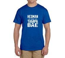 HEDMAN is My Tampa BAE men T-Shirt 100% cotton t shirts Men's gift for Tampa Bay Lightning fans 0217-7