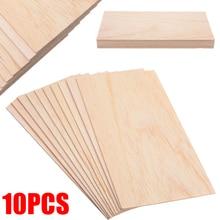 10 шт./компл. пробкового дерева простыни деревянная тарелка набор «сделай сам» для дома корабль самолет модель лодки игрушки корабль 200*100*1,5 мм