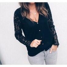 Long Sleeve Lace Cardigan