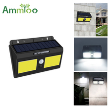 LED COB Outdoor Garden Solar Light IP65 Waterproof PIR Motio