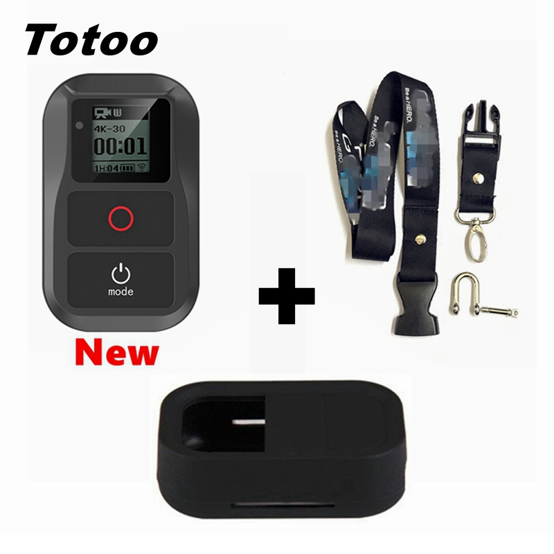 Newest Hero5 Hero6 Remote For Gopro Hero7 Black Wifi Waterproof Remote Control For Go Pro Hero 5 6 7 Black 4 5 Sessi 3+Accessory