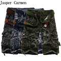 New 2017 Hot Men's Casual Camouflage Shorts Men Loose Cargo Shorts Men Large Size 29-42 Multi-pocket Military Short homme 47wy