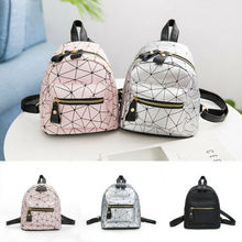 Lady Women Leather Backpack School Rucksack College Shoulder Satchel Travel Bag Fanny Pack Female Belt Bag  Girls Mini Bag lady new embroidery unique nice school bag ethinic travel rucksack shoulder bags women national style college students backpack