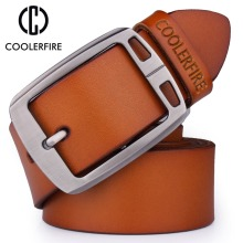 100% Genuine Leather Luxury Strap Belts for Men – Vintage Fancy High Quality Designer Belt