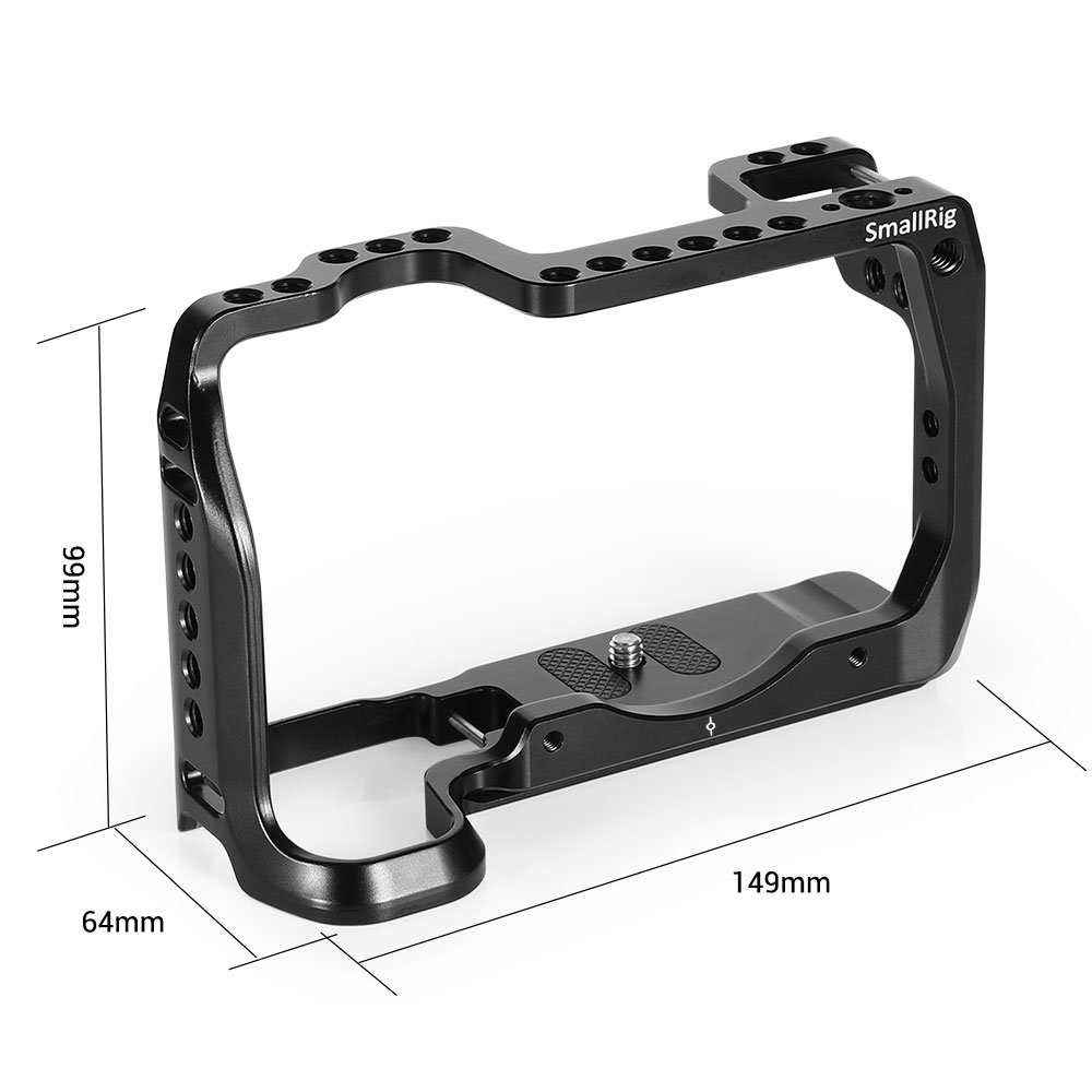 Image 2 - SmallRig DSLR Camera Cage for Canon EOS RP Feature with 1/4 3/8 Thread Holes For Magic Arm Microphone Attachment CCC2332-in Camera Cage from Consumer Electronics