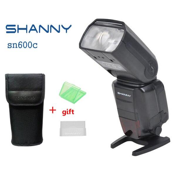 SHANNY SN600C GN60 e-TTL Высокоскоростной Синхронизации 1/8000 s Вспышка Speedlite для Canon 6D 7D Mark II 5D2 5D3 60D 70D 700D 650D 600D Камеры