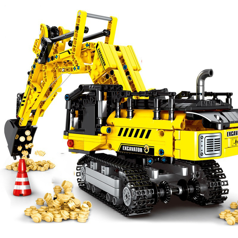 841pcs-Engineer-Excavator-Truck-Vehicle-Building-Blocks-Compatible-Technic-City-Construction-DIY-Bricks-Kids-Toys-For (1)