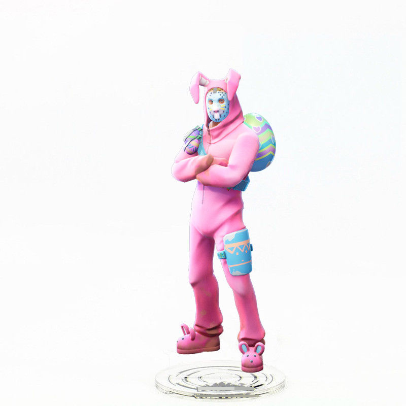 llama pink bear bunny skin acrylic stand camel model toy figure desk decoration in action toy figures from toys hobbies on aliexpress com alibaba - fortnite pink bear costume