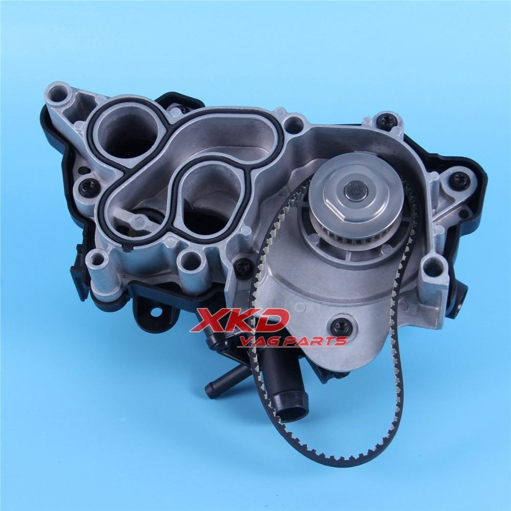 Engine Water Pump Kit For VW Golf MK7 Passat B8 Audi Q3 Polo EA211 1 4TSI