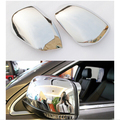 Car Styling 2PCS ABS Chrome Side Door Rearview Mirror Covers Trim  For Jeep Grand Cherokee