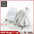 New Arrival ! laptop Adapter For Macbook Air 45W 14.85V 3.05A T tip with 5V 1A USB charging port Power Charger A1465 A1436 A1435